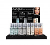 GCD356 LA GIRL PRIME SET&SHIMMER SPRAY DISPALY SET/24PC