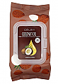 CELAVI-COCONUT OIL MAKEUP REMOVING TOWELETTES/12PK