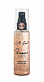GFS919-LA GIRL ROSE GOLD SHIMMER SPRAY/3PC