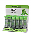 519-BEAUTY TREATS ALOE LIP GLOSS/24PCS