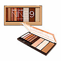 NK-ST-AP12B NICKA K-PERFECT NINE9 EYESHADOW-DREAMY ROSE/12PCS