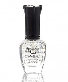 #1 -CLEAR TOP COAT-KLEAN COLOR NAIL LACQUER /6PCS
