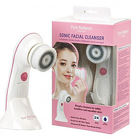 CALA-67502 SONIC FACIAL CLEANSER 2-SPEED CONTROL/3PCS