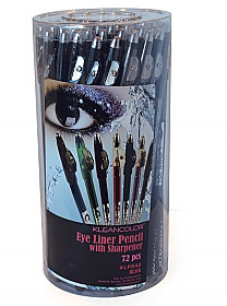 LPS40-KLEAN COLOR EYELINER PENCIL SHARPENER BLACK/72PC