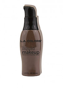 CLM289A-LA COLORS LIQUID MAKE UP-EBONY/3PCS