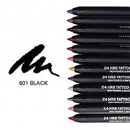 IT-601 24HRS TATOO EYELINER-BLACK/12PCS