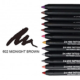 IT-602 24HRS TATOO EYELINER-MIDNIGHT BROWN/12PCS