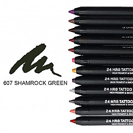IT-607 24HRS TATOO EYELINER-SHAMROCK GREEN/12PCS