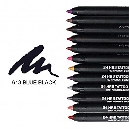 IT-613 24HRS TATOO EYELINER-BLUE BLACK/12PCS