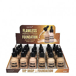 ST-297 SANTEE FLAWLESS PERFECT FINISH FOUNDATION /24PC