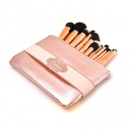 BC-11BSRGP 12PC ROSE GOLD BRUSH SET/3PCS