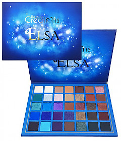BC-BCE12 BEAUTY CREATIONS-ELSA 35COLOR PRO PALETTE/3PCS