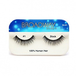 KISS-BLA01-Kiss-Broadway Eyes-Human Hair eyelashes