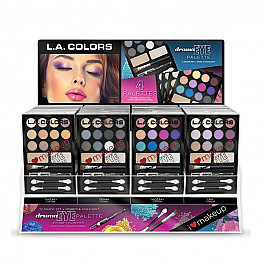 CAD53 LA COLOR I LOVE MAKEUP EYE PALETTE SET/48PCS