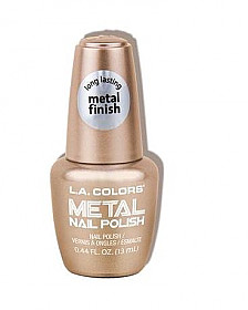 CNL62 BUBBLY LA COLOR METAL NAIL POLISH/3PCS