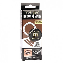 GBP-363 LA GIRL EYE BROW POMADE-SOFT BROWN/3PCS