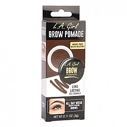 GBP365-LA GIRL BROW POMADE-DARK BROWN/3PCS