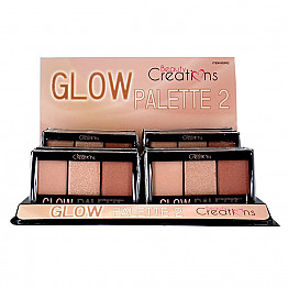 GP02 BEAUTY CREATIONS GLOW PALETTE/12PC