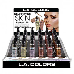 CAD-314.1 LA COLORS-ILLUMINATING SKIN ENHANCER/54PCS
