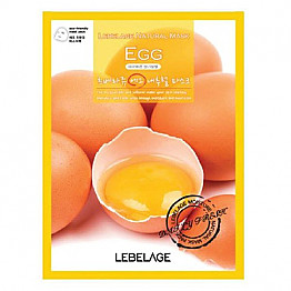 KR-CM-LEBELAGE NATURAL MASK -EGG /10PC