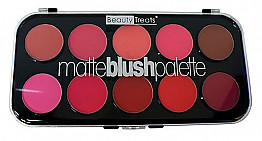 BT-358 Beauty Treats Matte Blush Palette 6pcs/Display (total 12pcs/box)