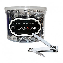 CN-ML017 Cleanail Toenail Clipper with File 36pcs/Jar