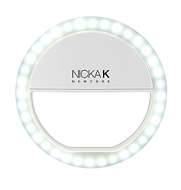 ST-NSL01: NICKA NEW YORK SELFIE LIGHT WHITE/1PC