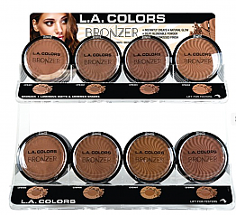 CAD449.1 LA COLOR BRONZER/72PCS