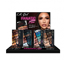 GPD-342 LA GIRL FANATIC EYESHADOW SET