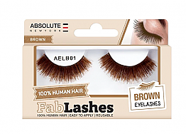 ABNY-FABLASHES - BROWN