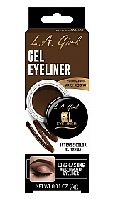 GLE735 RICH CHOCOLATE BROWN GEL EYELINER/3PCS