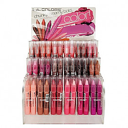 CAD263 LA COLORS CHUNKY LIP PENCIL/108PC