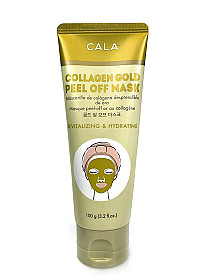 CALA-67141 COLLAGEN GOLD PEEL OFF MASK/6PC