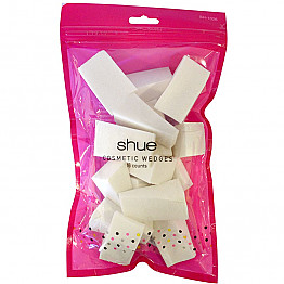 SH-1026 SHUE 16CTS COSMETIC WEDGES /12BAG