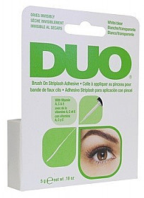 DUO-AI56812 ARDELL-DUO EYE LASH GLUE BRUSH EYELASH GLUE-CLEAR-6PCS