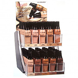 CAD-29 LA COLORS LIQUID MAKE UP/60PCS