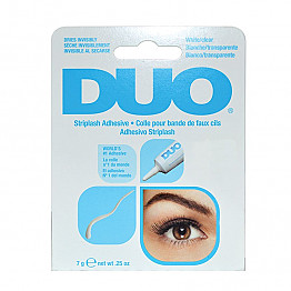 DUO-AI568034 DUO STRIP EYELASH GLUE  ADHESIVE 0.25OZ/-CLEAR/6PCS