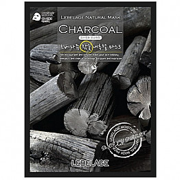 CM-LEBELAGE NATURAL MASK -CHARCOAL /10PC