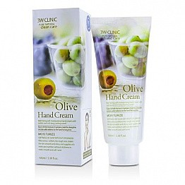 DODO 3W CLINIC HAND CREAM-OLIVE/6PCS