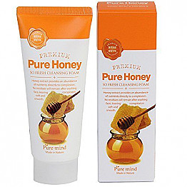 PURE MIND-PURE HONEY SO FRESH CLEANING FOAM/6PCS