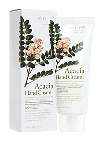 DODO 3W CLINIC HAND CREAM-ACACIA 3oz/6PCS