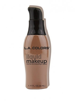 CLM286A-LA COLORS LIQUID MAKE UP-CAPPUCCINO/3PCS