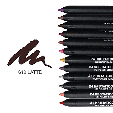 IT-612 24HRS TATOO EYELINER-LATTE/12PCS