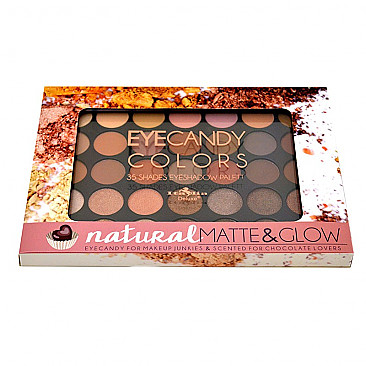 IT-2305-2 EYECANDY COLORS-NATURAL MATTE & GLOW/6PCS