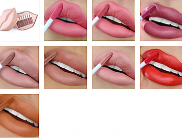 NUDE SET-THE LOW KEY LIP SET/1UNIT