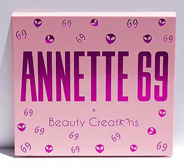 AE16-BEAUTY CREATIONS-ANETTE69 EYESHADOW/12PCS
