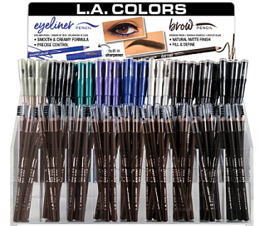 CAD448.1-LA COLORS ON POINT EYE&BROW/216PC