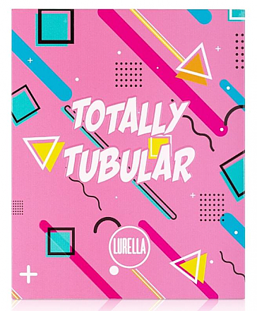 TOTALLY TUBULAR EYESHADOW PALETTE/6UNIT