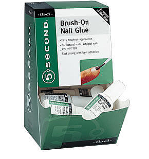 IBD-54006-IBD 5 SECOND NAIL GLUE BRUSH ON/12PC