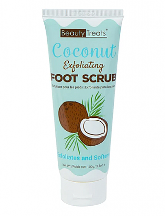 114-COCONUT FXFOLIATING FOOT SCRUB/1PC